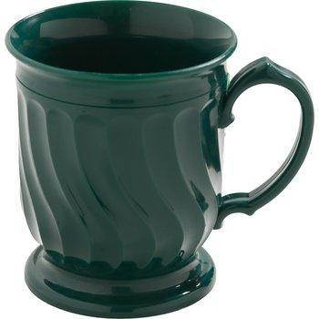 DX300008 - Turnbury® Insulated Pedestal Base Mug 8 oz (48/cs) - Hunter Green