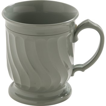 DX300084 - Turnbury® Insulated Pedestal Base Mug 8 oz (48/cs) - Sage