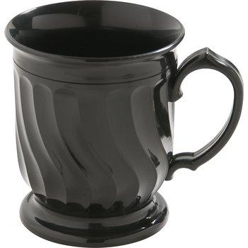 DX300003 - Turnbury® Insulated Pedestal Base Mug 8 oz (48/cs) - Onyx