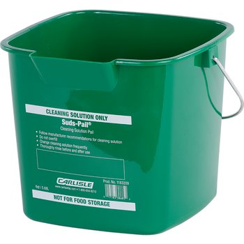 1183209 - Square Suds Pail® 6 qt - Green