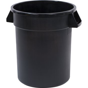 34102003 - Bronco™ Round Waste Bin Food Container 20 Gallon - Black