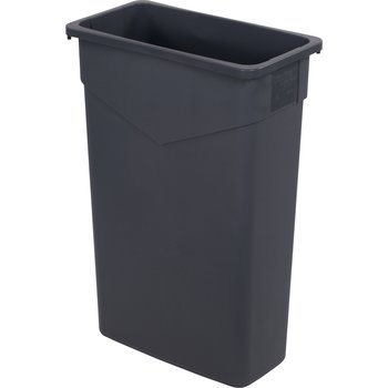 34202323 - TrimLine™ Rectangle Waste Container Trash Can 23 Gallon - Gray