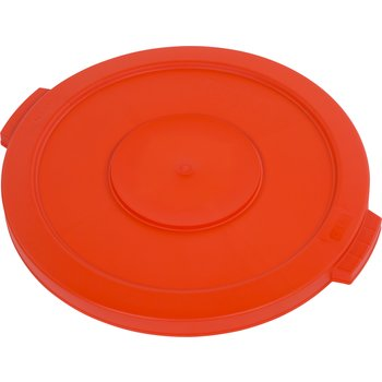 34102124 - Bronco™ Round Waste Bin Food Container Lid 20 Gallon - Orange