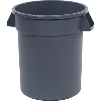 34102023 - Bronco™ Round Waste Bin Food Container 20 Gallon - Gray