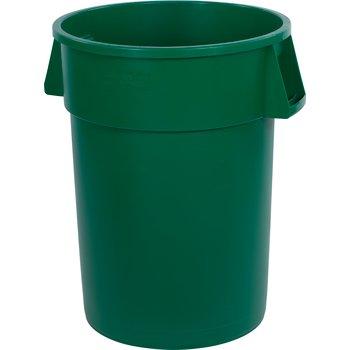 34104409 - Bronco™ Round Waste Bin Trash Container 44 Gallon - Green