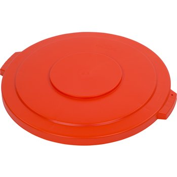 34104524 - Bronco™ Round Waste Bin Trash Container Lid 44 Gallon - Orange
