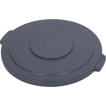 34104523 - Bronco™ Round Waste Bin Trash Container Lid 44 Gallon - Gray