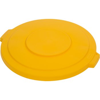 34103304 - Bronco™ Round Waste Bin Trash Container Lid 32 Gallon - Yellow