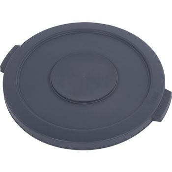 34102123 - Bronco™ Round Waste Bin Food Container Lid 20 Gallon - Gray
