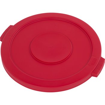 34102105 - Bronco™ Round Waste Bin Food Container Lid 20 Gallon - Red