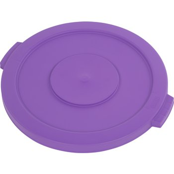 34102189 - Bronco™ Round Waste Bin Food Container Lid 20 Gallon - Purple