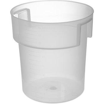 180530 - Bains Marie Food Storage Container 18 qt - Translucent