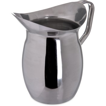 609273 - Bell Pitcher 3 qt - Stainless Steel