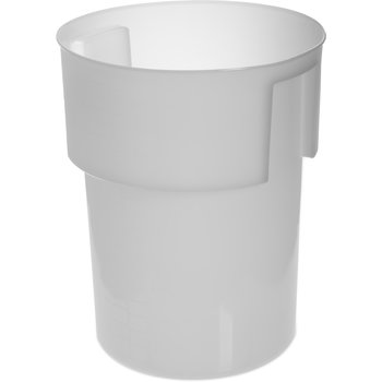 "220002 - Container 12-1/4"" Deep x 15-7/16"" High - White"