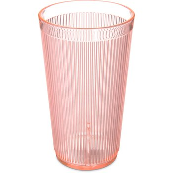 403552 - Crystalon® RimGlow™ Tumbler 20 oz - Glo-Sunset Orange