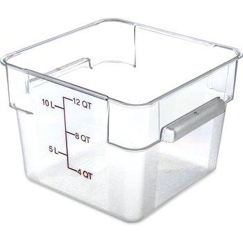 10724AF07 - StorPlus™ Square Container 12 qt - Purple