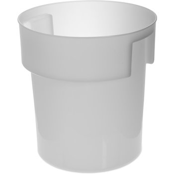 180002 - Bains Marie Container 18 qt - White