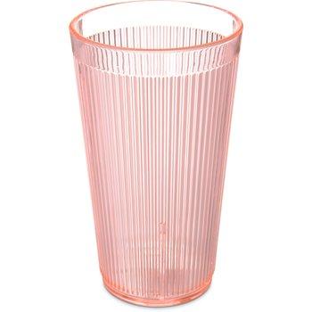 403452 - Crystalon® RimGlow™ Tumbler 16 oz - Glo-Sunset Orange