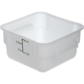 1073002 - StorPlus™ Square Container 2 qt - White