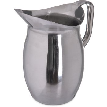 609270 - Bell Pitcher 2 qt - Stainless Steel