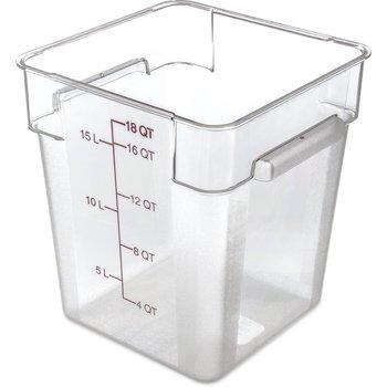 10725AF07 - StorPlus™ Square Container 18 qt - Purple