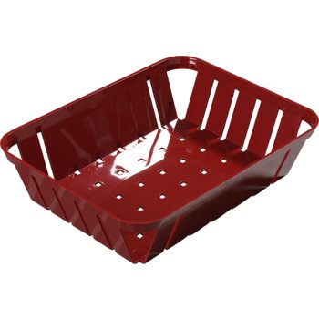 """4403105 - Munchie Baskets™  10.5"""" x 8.0"""" x 2.25"""" - Red"""