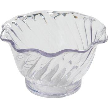 DXSWC507 - Tulip Cup- Swirl 5 oz (96/cs) - Clear