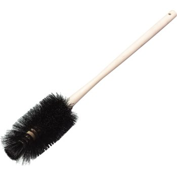 "4553203 - Bowl Brush With Polyester Bristles 24"" - Black"