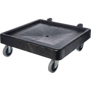 """C223603 - E-Z Glide™ Warewashing Rack Dolly Without Handle 22.5"""" x 22.5"""" x 8"""" - Black"""