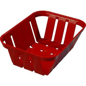 """4403005 - Munchie Baskets™  7.5"""" x 5.4"""" x 2.5"""" - Red"""