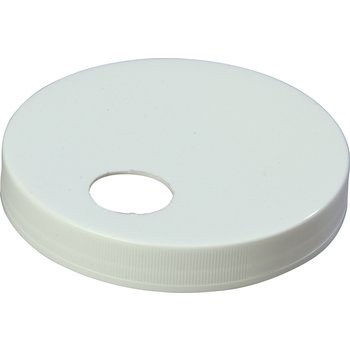 "38310120 - Plastic Cap only 4.72"" - White"