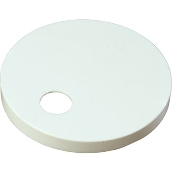 "38310160 - Plastic Cap only 6.30"" - White"