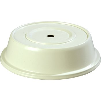 "91070202 - Polyglass Plate Cover 10-1/4"" to 10-5/8""  - Bone"