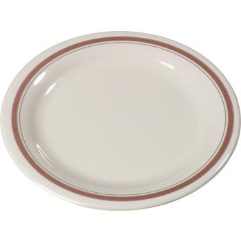 """43005906 - Durus® Melamine Dinner Plate Narrow Rim 9"""" - Parisian on Bone"""