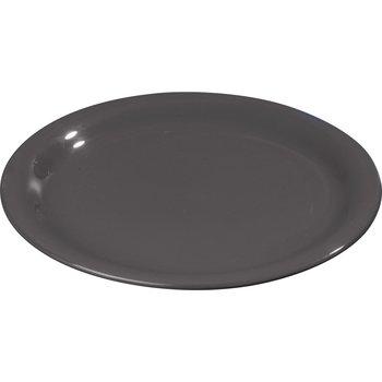 "4300803 - Durus® Melamine Narrow Rim Pie Plate 6.5"" - Black"