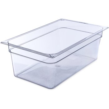 "10203B07 - StorPlus™ Full Size Food Pan PC 8"" DP Full Size - Clear"