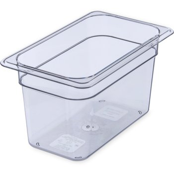 "3068207 - StorPlus™ Food Pan PC 6"" DP 1/4 Size - Clear"