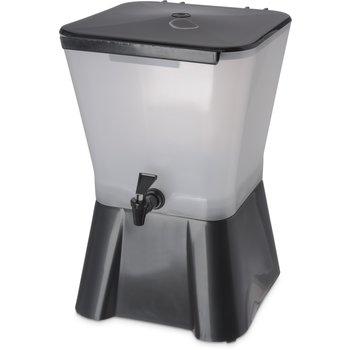 1082003 - Square Dispenser w/Base 3 gal - Black