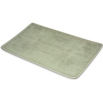 "6401546 - Grove Melamine Rectangle Platter Tray 15"" x 9"" - Jade"