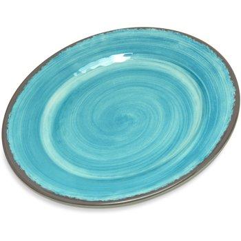 "5400715 - Mingle Melamine Bread And Butter Plate 7"" - Aqua"