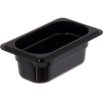 "3088603 - StorPlus™ Food Pan HH 2.5"" DP 1/9 Size - Black"