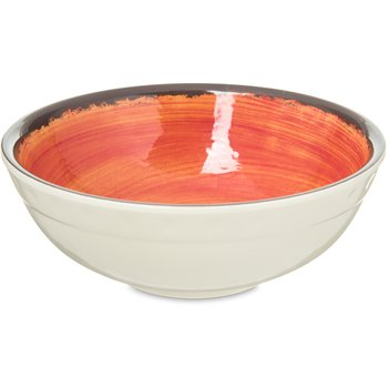 5400552 - Mingle Melamine Small Bowl 17 oz - Fireball