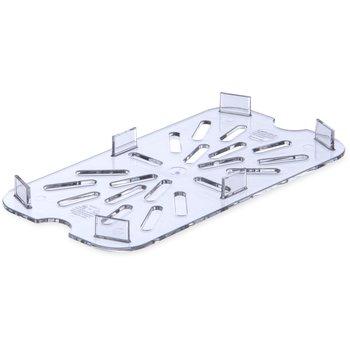 3069507 - StorPlus™ Drain Shelf - Food Pan PC 1/4 Size - Clear