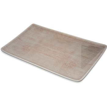 "6401570 - Grove Melamine Rectangle Platter Tray 15"" x 9"" - Adobe"