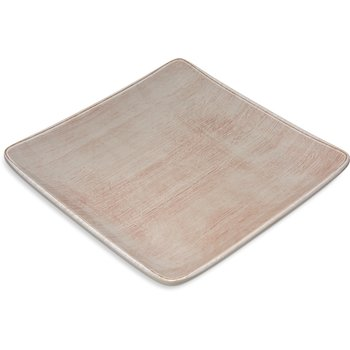 "6400970 - Grove Melamine Square Plate 9"" - Adobe"