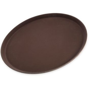 "1600GR076 - Griptite™ Round Tray 16"" / 23/32"" - Toffee Tan"