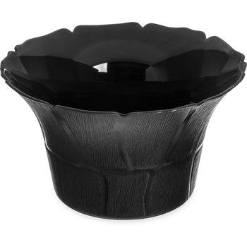 "693103 - Petal Mist® Bell Bowl 3.4 qt, 9-3/4"" - Black"