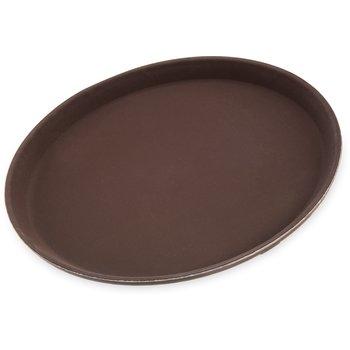 "1100GR076 - Griptite™ Round Tray 11"" / 3/4"" - Toffee Tan"