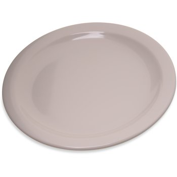 "4350342 - Dallas Ware® Melamine Salad Plate 7.25"" - Bone"