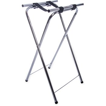 "C3625T38 - Steel Tray Stand 36"" - Chrome"